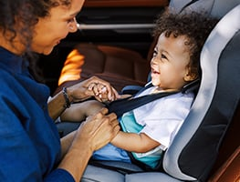Parent - baby - car safety