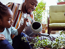 parents - kids - gardening - activities