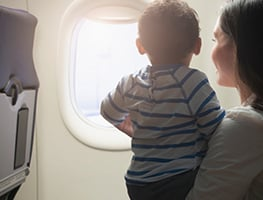 parents - kids - travel - planes