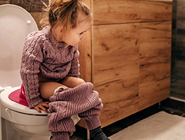 Toddler - Toilet training - bowel motions