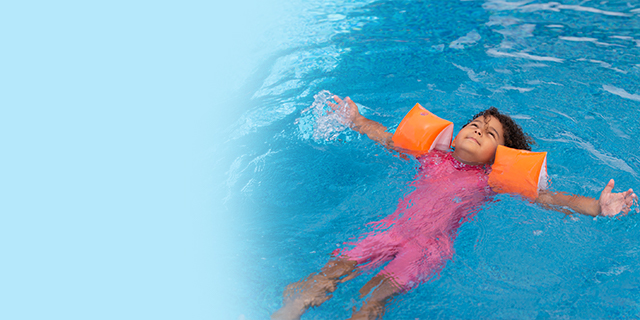 Parenting - child - water safety - how to swim in pool