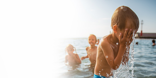Parenting - child - water safety - learn to swim